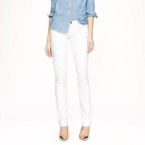 J.Crew White Matchstick Jeans